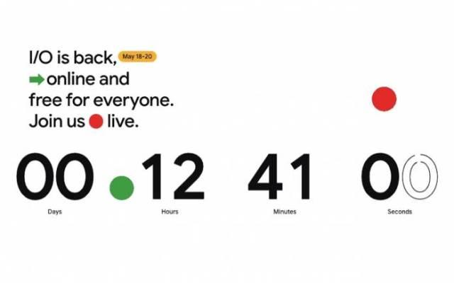 Google IO 2021 Countdown