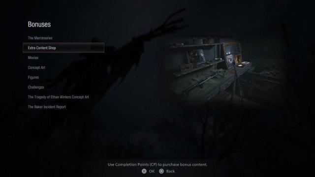 Resident Evil Village Extra Content Shop