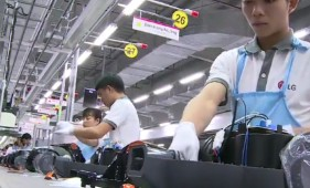 LG's plant in Haiphong was its center of smartphone production, now turning to appliances
