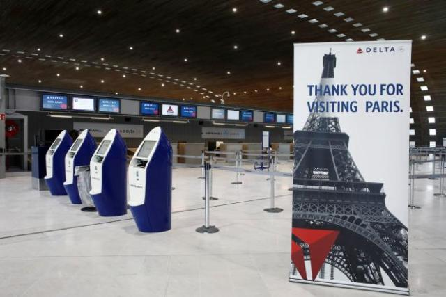 A l'aéroport Roissy-Charles-de-Gaulle, le 16 mai 2020.