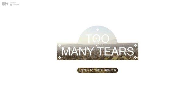 Too Many Tears Ai