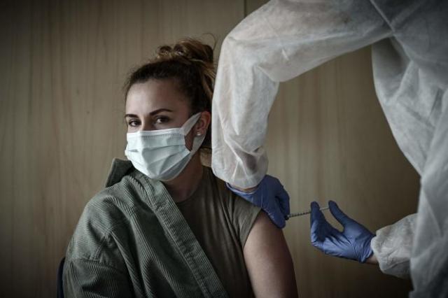 Dans un centre de vaccination du quartier de Bacalan, à Bordeaux, le 26 mai 2021.