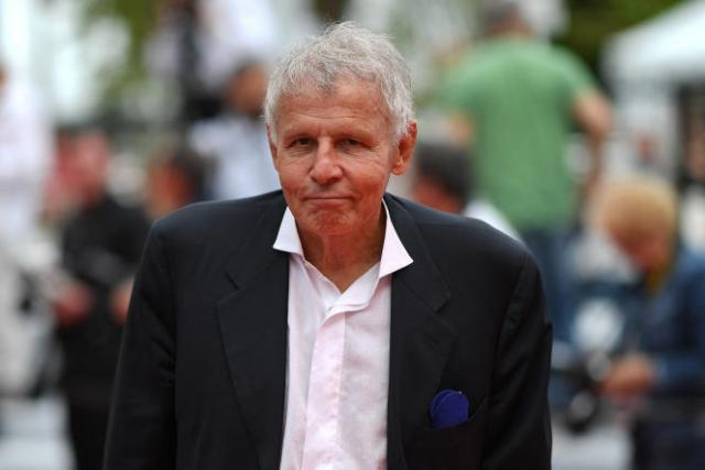 Le journaliste et écrivain Patrick Poivre d'Arvor sur le tapis rouge du Festival de Cannes, le 25 juin 2021.