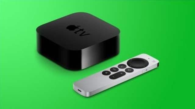 apple tv 4k design green