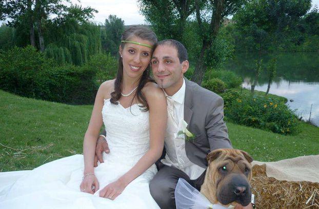 Delphine et Cedric Jubillar le jour de leur mariage en 2013. La jeune infirmière d'Albi de 33 ans, a disparu dans la nuit du mardi 15 au mercredi 16 décembre 2020 de son domicile de Cagnac-les-Mines dans le Tarn.