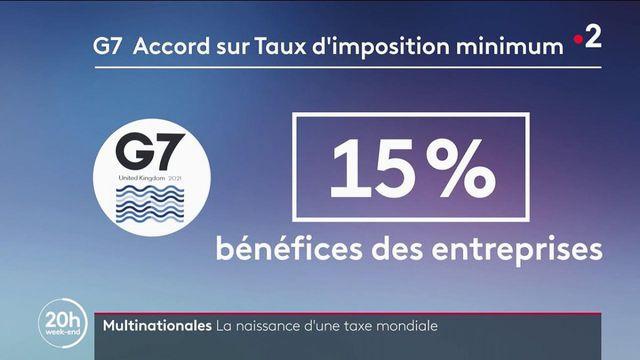 Économie : le G7 vote un accord historique sur un taux d'imposition minimum des sociétés