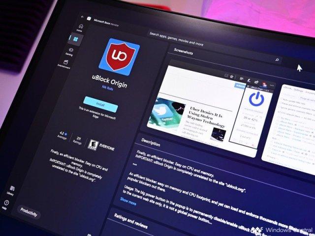 Extensions Store Windows11 Ublock