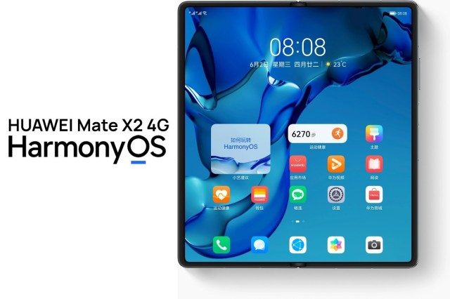 Huawei Mate X2 4G goes on sale in China with HarmonyOS 2.0 out of the box