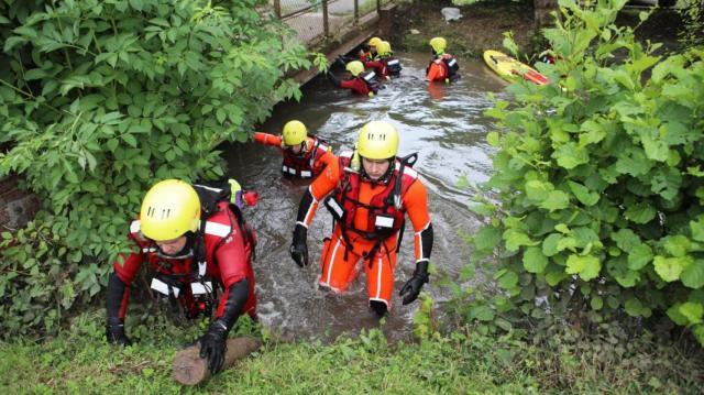 Le corps de l'adolescent de 17 ans disparu lundi lors des inondations à Beauvais a été retrouvé mercredi. (Photo Dominique TOUCHART/Courrier Picard)