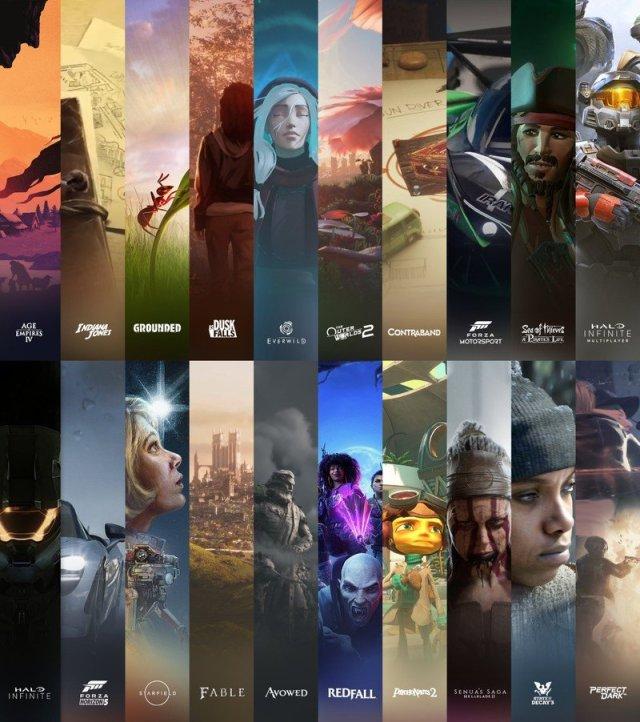 Xbox Diverse Lineup