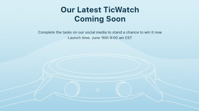 Mobvoi TicWatch E3 specs and design revealed in an unboxing video, may arrive on June 16