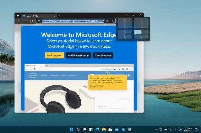 Windows11 New Snap