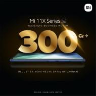 The Mi 11X duo has sold phones worth over ₹3 billion in India