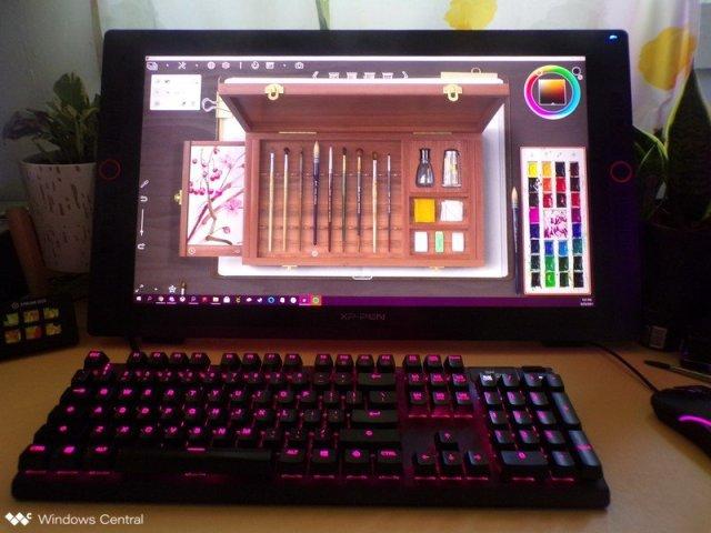XP Pen Artist 24 Pro Lifestyle