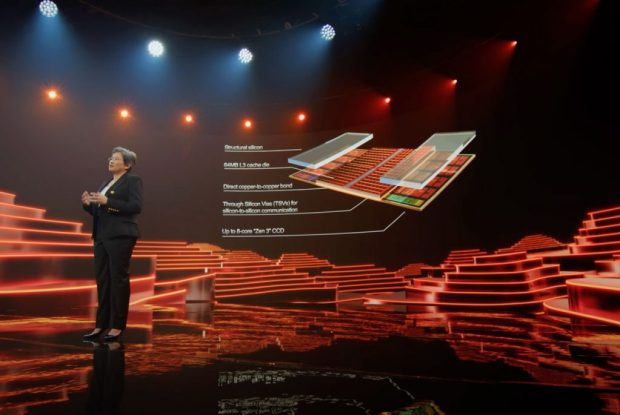 AMD – Technologie 3D V-Cache