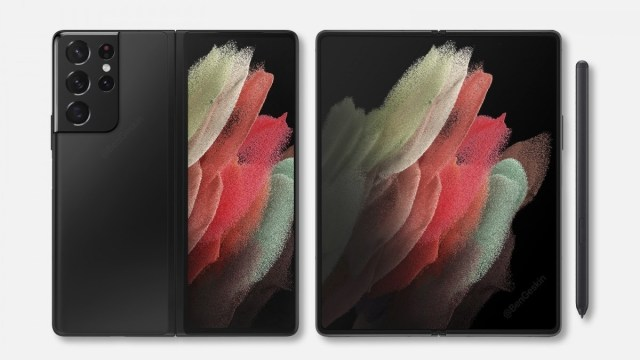 Samsung Galaxy Z Fold3 render