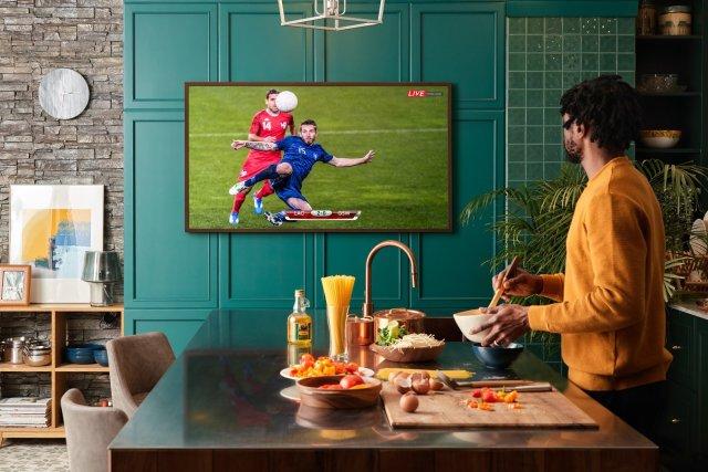 Samsung The Frame 2021 QLED TV Sports