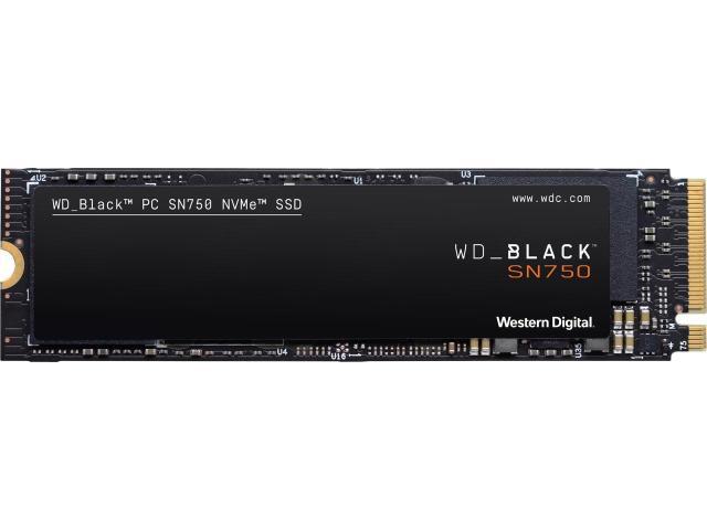 Western Digital WD BLACK SN750 NVMe M.2 SSD