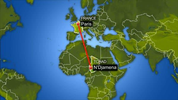 Une suspicion d'engin explosif a été annoncée à bord d'un avion en provenance du Tchad