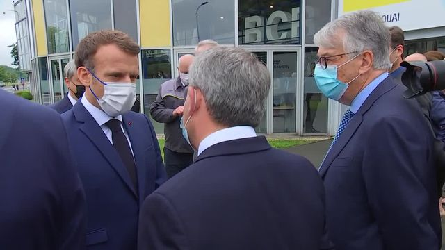 Macron Bertrand Douai