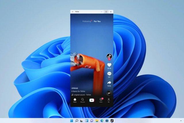 Windows 11 Android Apps TikTok