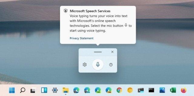 Windows 11 Voice Typing