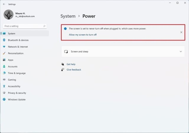 Windows Settings recommendations