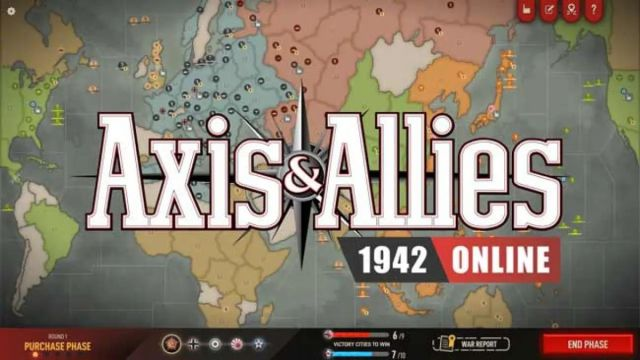 axis allies 1942 online