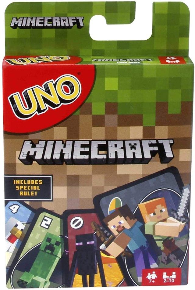 Minecraft Uno Card Game Reco Image