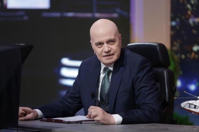 Slavi Trifonov, à Sofia, en Bulgarie, le 30 novembre 2020.