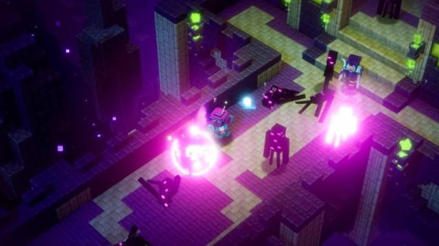 Minecraft Dungeons Echoing Void Dlc Screenshot