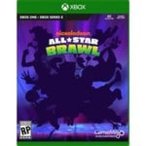 Nick Allstar Brawl Xbox Box Art