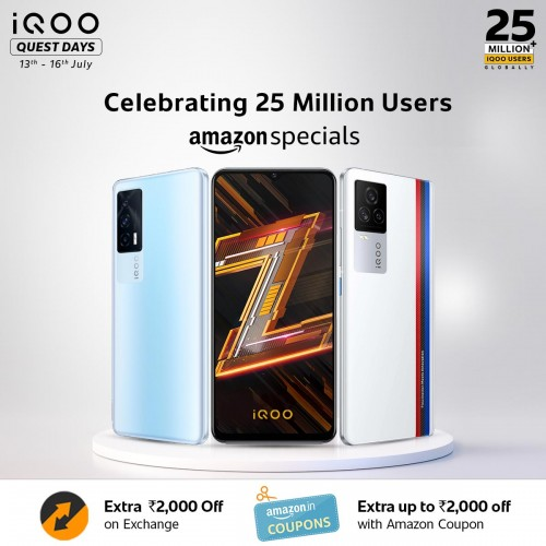 iQOO reaches 25 million users globally, announces special deals to celebrate the milestone
