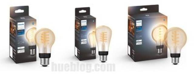 Hue White Ambiance Filament alle Lampen