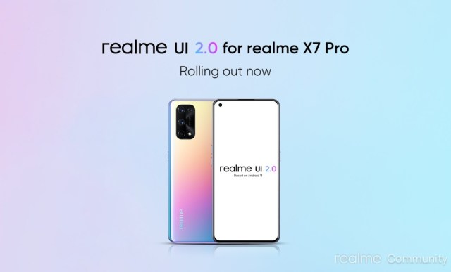 Realme X7 Pro gets Android 11-based Realme UI 2.0 stable update