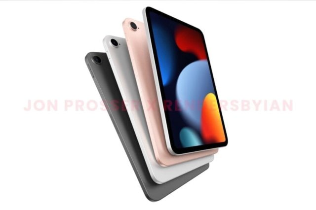 iPad Mini rendu