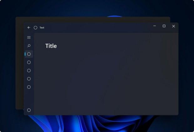 Windows 11 et MICA, mode Dark