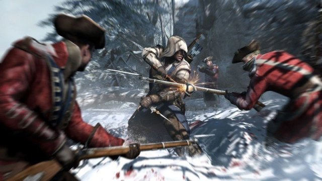 Assassins Creed 3 Connor Red Coats