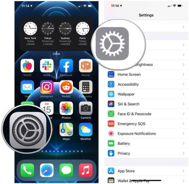 Pour configurer un VPN sur iPhone ou iPad, lancez l'application Paramètres sur votre écran d'accueil, appuyez sur Général.