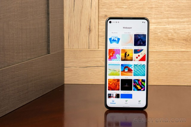 Google Pixel 5a in for review