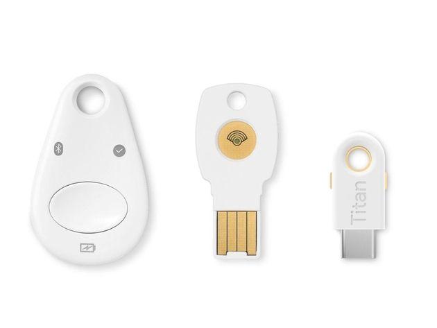 Google simplifie les clés de sécurité Titan