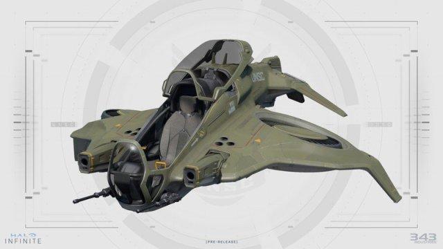 Halo Infinite Wasp Concept