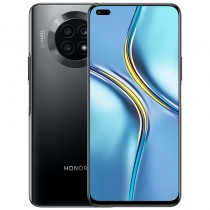 Honor X20 5G in black, blue and silver