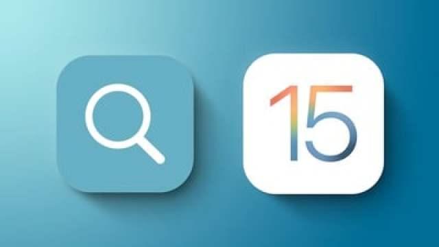 ios 15 spotlight search feature