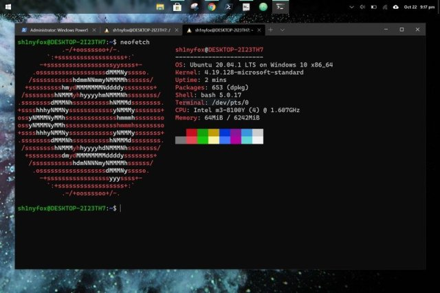 Ubuntu on Windows 10