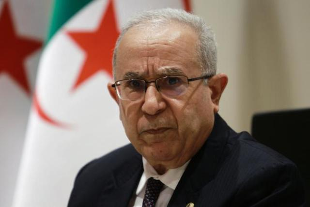 Le ministre des affaires étrangères algérien, Ramtane Lamamra, le 24 août.