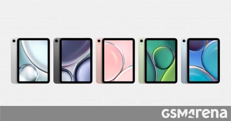 Les derniers rendus de l'iPad mini 6 affichent toutes les options de couleur et mettent en évidence les spécifications