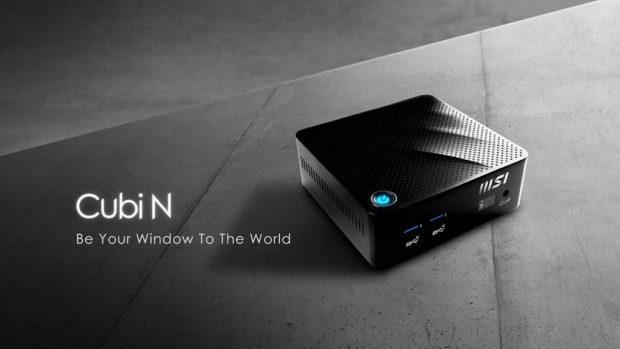 Mini-PC MSI Cubi N series