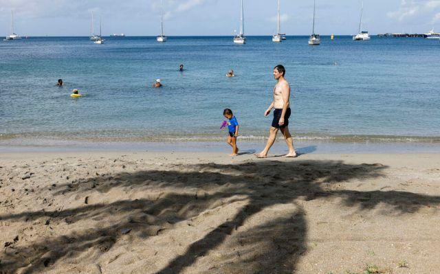 Avec le reconfinement décrété ce mardi, la Martinique invite ses touristes à mettre fin à leur séjour. LP/Olivier Corsan