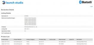 Samsung Galaxy S21 FE 5G Bluetooth SIG certification